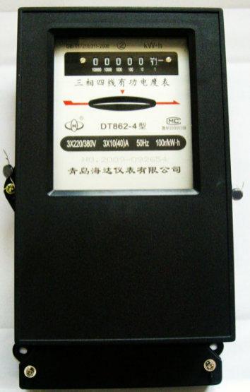 dt862-4三相四线机械式电能表